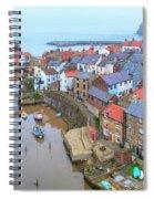 Staithes - England Spiral Notebook