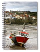 Staithes, North Yorkshire, England Spiral Notebook