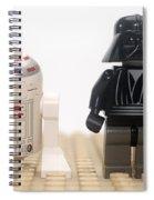 Star Wars Action Figure  Spiral Notebook