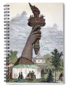Statue Of Liberty, 1876 Spiral Notebook