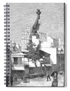 Statue Of Liberty, 1884 Spiral Notebook