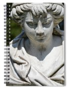 Statue Spiral Notebook