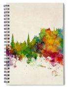 Stirling Scotland Skyline Spiral Notebook