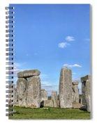 Stonehenge - England Spiral Notebook