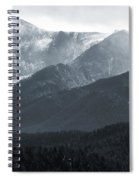 Stormy Pikes Peak Spiral Notebook