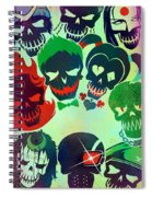 Suicide Squad 2016 Spiral Notebook
