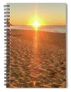 Sunrise Beach Seascape Spiral Notebook