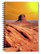 Sunrise Monument Valley Spiral Notebook