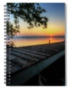 Sunrise Over Cayuga Lake Spiral Notebook