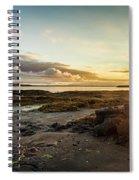 sunset Iceland Spiral Notebook