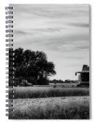 Sunset Harvest Spiral Notebook
