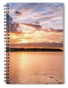 Sunset Over The Bay.......... Spiral Notebook