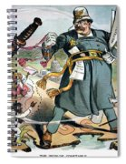 T. Roosevelt Cartoon Spiral Notebook