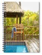 Tahiti Bora Bora Spiral Notebook