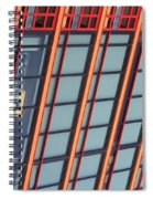 Tall Building Showing Colors #2 Spiral Notebook