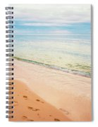 Tangalooma Island Beach In Moreton Bay.  Spiral Notebook