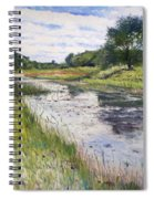 Thamalakane River At Maun Botswana 2008  Spiral Notebook