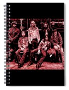 The Allman Brothers Collection Spiral Notebook