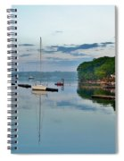 The Bass River At Dawn, Beverly Ma Spiral Notebook