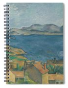 The Bay Of Marseilles Spiral Notebook
