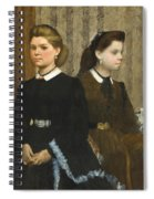 The Bellelli Sisters Spiral Notebook