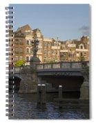 The Bridges Of Amsterdam Spiral Notebook
