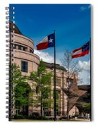 The Bullock Texas State History Museum Spiral Notebook