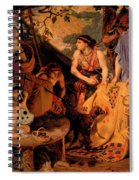 The Coat Of Many Colours Spiral Notebook