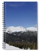 The Continental Divide Spiral Notebook