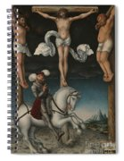 The Crucifixion With The Converted Centurion Spiral Notebook