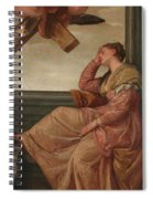 The Dream Of Saint Helena Spiral Notebook
