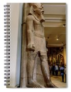 The Egyptian Museum Of Antiquities - Cairo Egypt Spiral Notebook