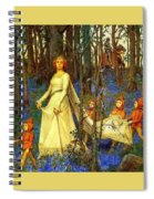 The Fairy Wood Henry Meynell Rheam Spiral Notebook