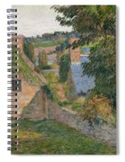 The Field Of Derout-lollichon Spiral Notebook