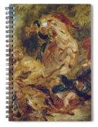 The Lion Hunt Spiral Notebook