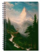 The Matterhorn Spiral Notebook