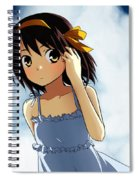 The Melancholy Of Haruhi Suzumiya Spiral Notebook