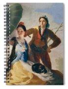 The Parasol Spiral Notebook