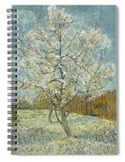 The Pink Peach Tree Spiral Notebook