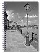 The Promenade At Barton Marina Spiral Notebook