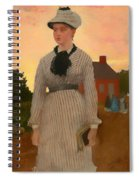 The Red School House Spiral Notebook
