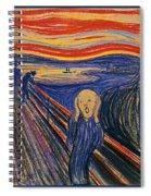 The Scream Ver 1895 Edvard Munch Spiral Notebook