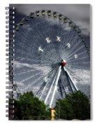 The Texas Star Spiral Notebook