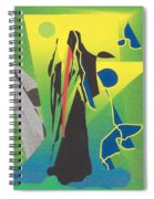 The Time Reaper Spiral Notebook
