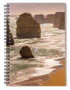 The Twelve Apostles Spiral Notebook