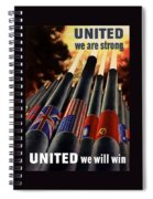 The United Nations Fight For Freedom Spiral Notebook