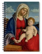 The Virgin And Child Spiral Notebook