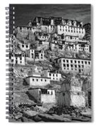 Thiksey Monastery Spiral Notebook