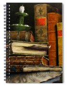 Time And Old Friends Spiral Notebook
