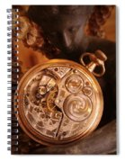 Time... Spiral Notebook